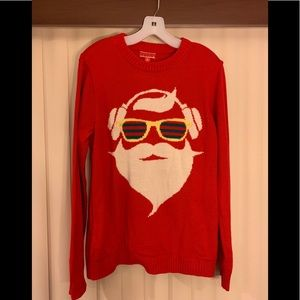 """Sweaters - """"Ugly Christmas Sweater"""" Light Up Grooving Santa"""